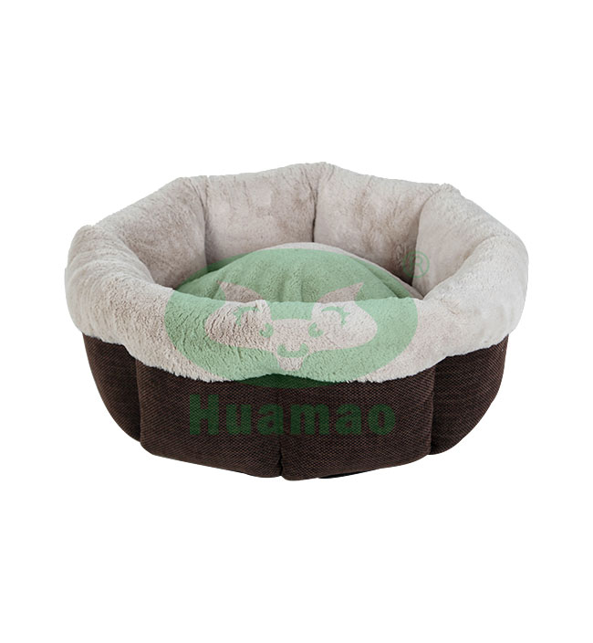 Octagon Fully Surrounded Pet Bed Cushion