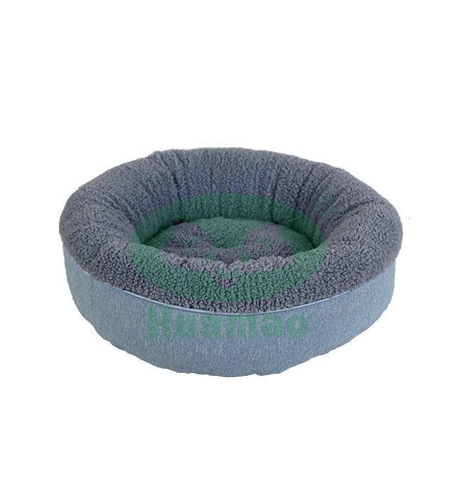 Donut Round PP Cotton Pet Bed Cushion