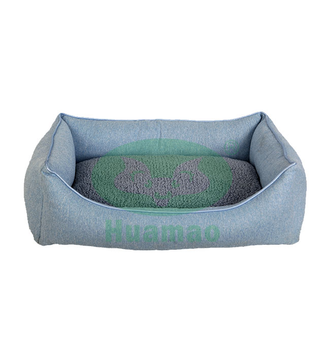 Rectangular Soft Cotton Pet Bed Cushion